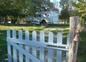 entrée du jardin clos de la roulotte de shanti