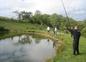 Partie de pêche sur notre étang