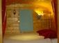 la roulotte de shanti, alcôve lit 160