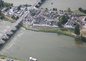 l'île d'Or vue d'avion