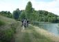 Promenade en vélo ou à pied autour du lac à 1 km