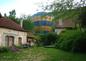 Montgolfière sur la propriété