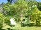 Transats dans le jardin