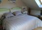 Chambre étage lit 160/200 cm