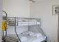 la chambre inox enfants à l'étage