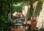 Terrasse gite Castelnaud