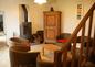 salon poële à bois