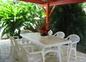 Terrasse arrière Villa Hbiscus