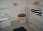 Salle de bain gîte Ixora