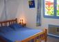 Chambre bleue 4 pers Villa Hibiscus