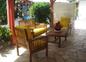Terrase avant Villa Hibiscus