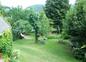 Une vue sur le jardin