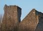 Le château de Regnéville sur mer