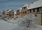 Bergheim  - Les Remparts sous la neige