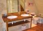 Salle de bains gite Montfort