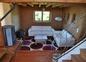 Le salon, poele à granulés, Tv satellite, lecteur Cd et DVD