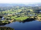 Les lacs autour des chalets